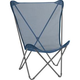 Lafuma Mobilier Maxi Pop Up Folding Chair with Cannage Phifertex ocean